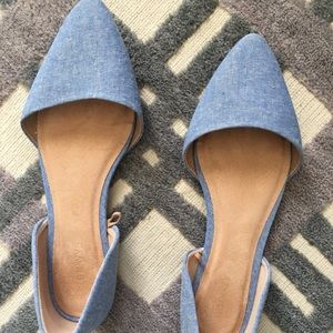 Old Navy Chambray Style Flats